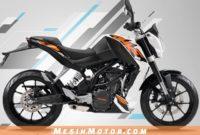 Daftar Harga Motor KTM Terbaru