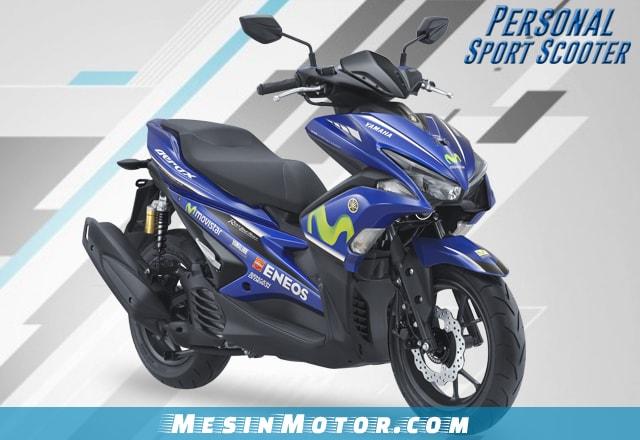 Motor Maxi Yamaha Aerox 155 VVA R-Version Yamaha Movistar