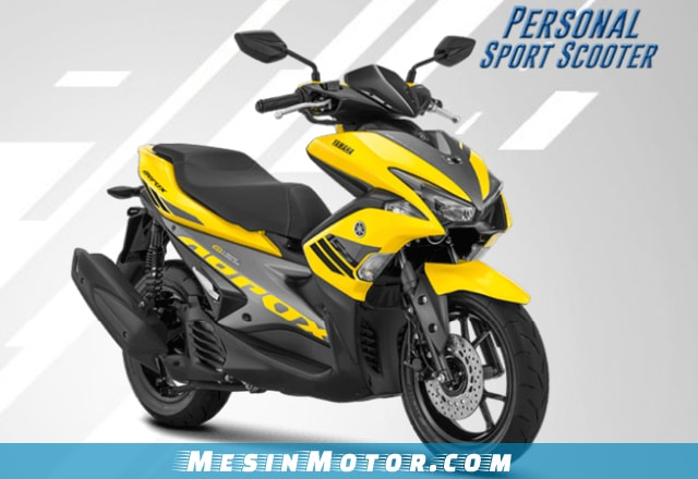Motor Maxi Yamaha Aerox 155 VVA