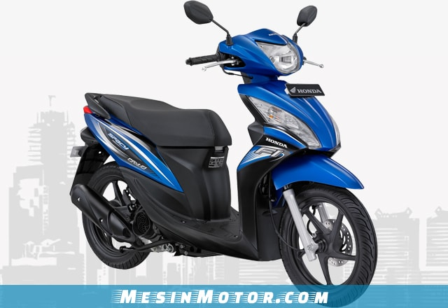 Motor Matic Murah Honda New Spacy CW FI