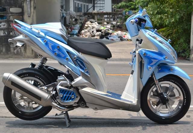 Airbrush Konsep Honda Vario 125