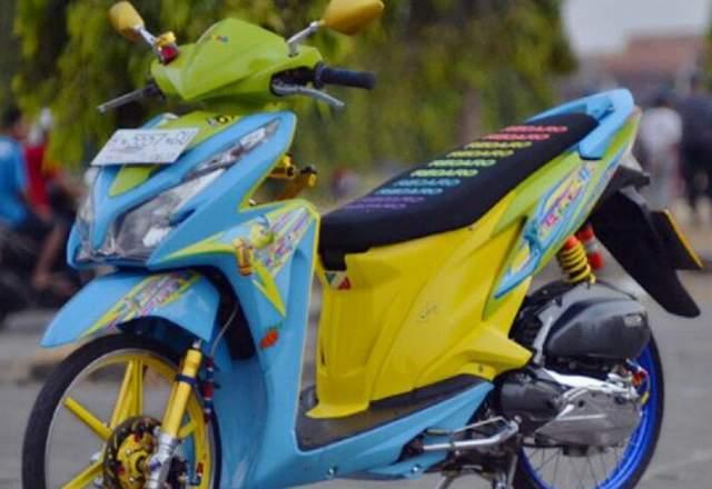 Konsel Airbrush Honda Vario 125