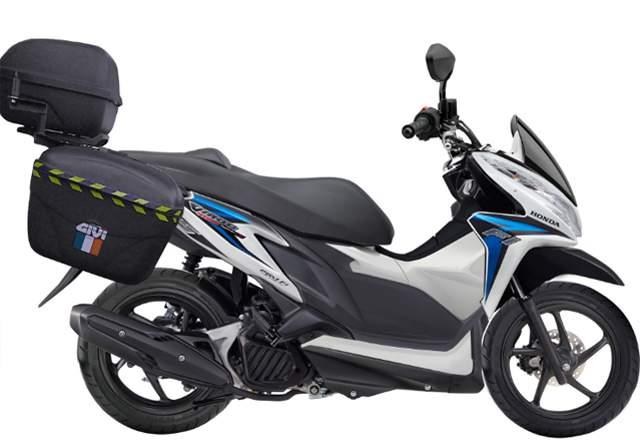 Modif Honda Vario 125 Konsep Touring