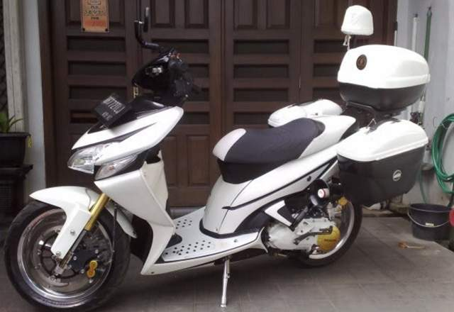 Modifikasi Honda Vario 125 Touring