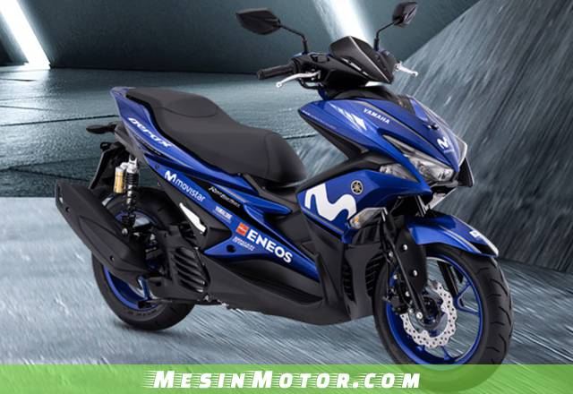 Yamaha Aerox155VVA R-Version Yamaha Movistar