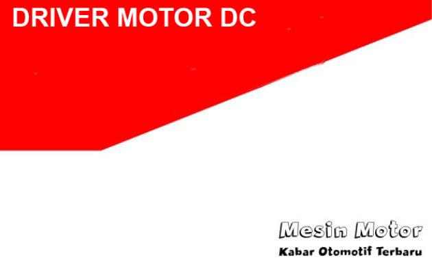Driver motor dc