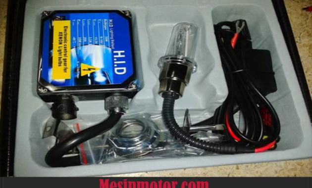 Cara Memasang Lampu HID Motor